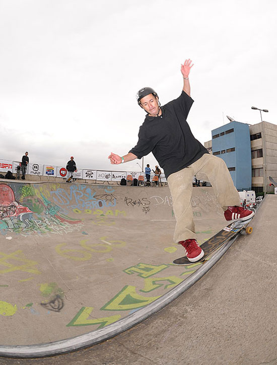 The Flash, front side smith