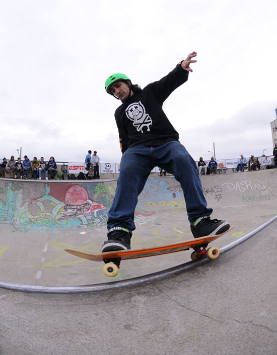 Rolamento, front side grind